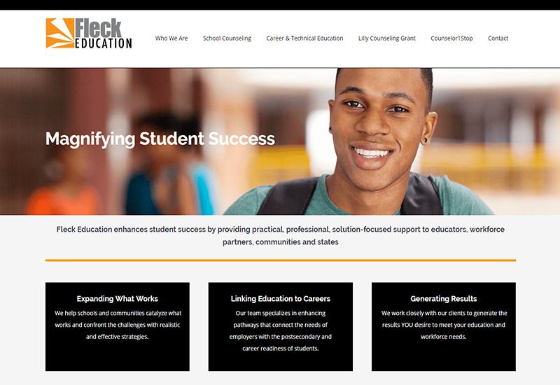 Fleck Education Home Page