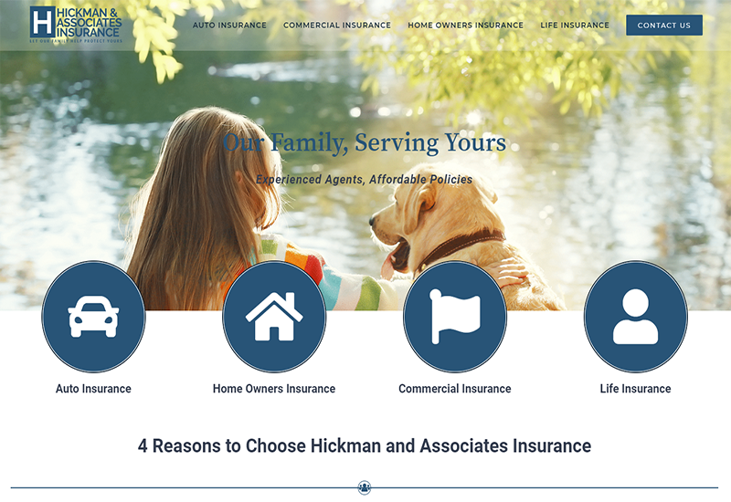Hickman and Associates Insurance Home Page