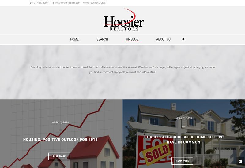 Hoosier Realtors Home Page