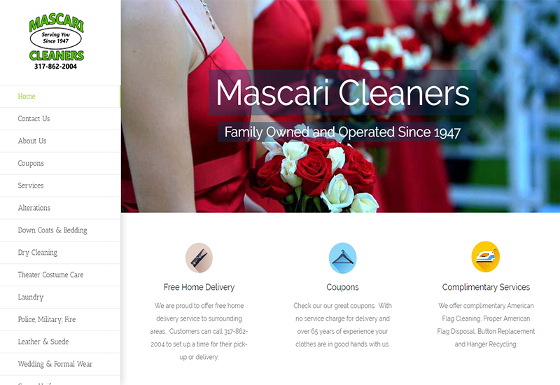 Mascari Cleaners Home Page