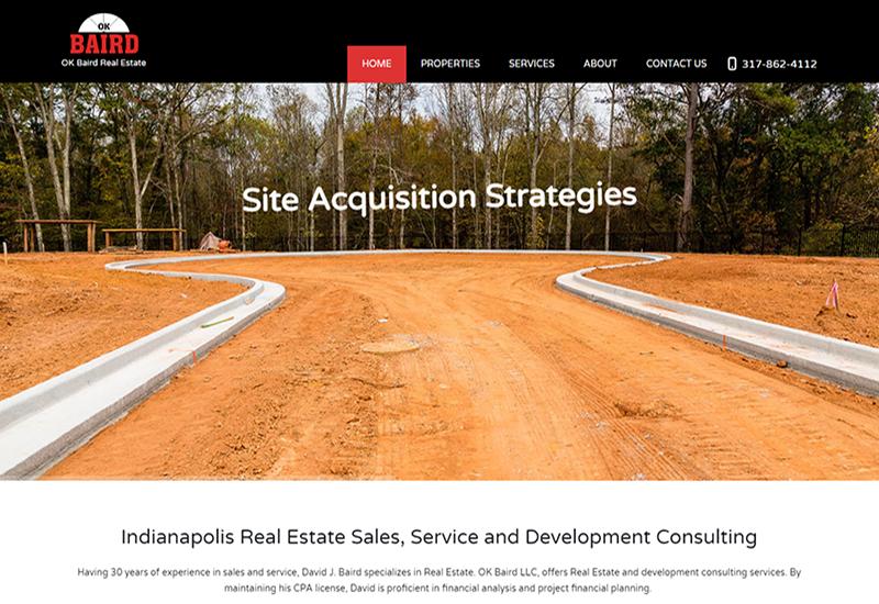 OK Baird Realtor Website